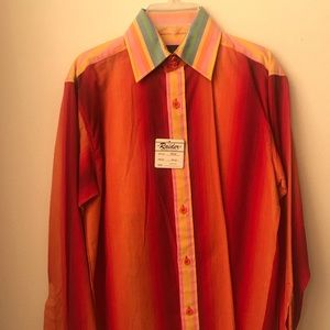 Tops - Rainbow Orange Long Sleeve Shirt! NWT!